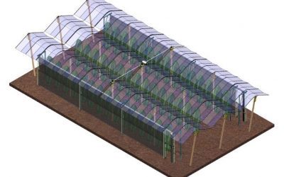 Automatischer Hagelschutz für den Obstbau
